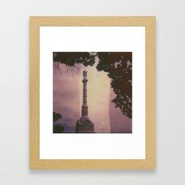 Yorktown Victory Monument Framed Art Print