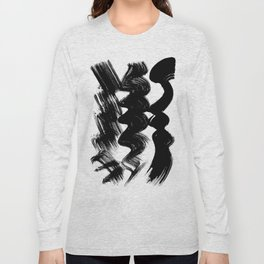 Brush stroke Long Sleeve T-shirt