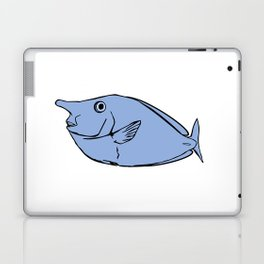 Unicorn fish illustration Laptop & iPad Skin