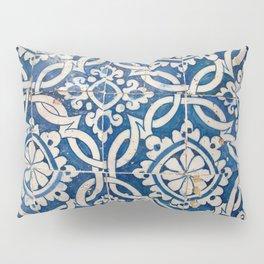 Vintage portuguese azulejo Pillow Sham