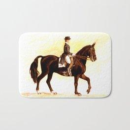 Horses and People No.2 Bath Mat