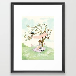 My summer Tree Framed Art Print