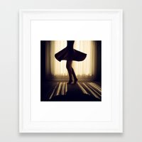 dancer Framed Art Prints featuring Dancer by Kameron Elisabeth