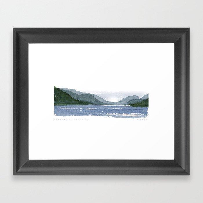 Vancouver Island,BC Gerahmter Kunstdruck