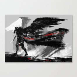 Ravens wings Canvas Print