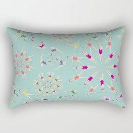 train hard and have fun! Rectangular Pillow
