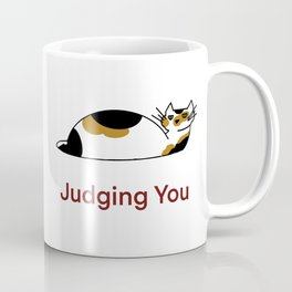 Montys Judging You Coffee Mug