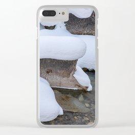 Topper Clear iPhone Case