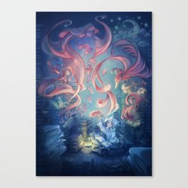 The Storyteller Canvas Print