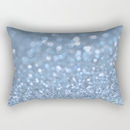 Baby Baby Blue Rectangular Pillow