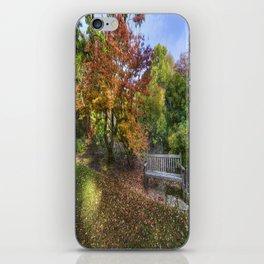 Autumn Bench  iPhone Skin