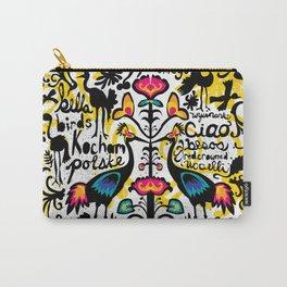 Wycinanki Folk Art Carry-All Pouch