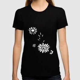 Taurus Floral Zodiac Constellation T-shirt