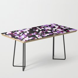 Purple Camo Coffee Table