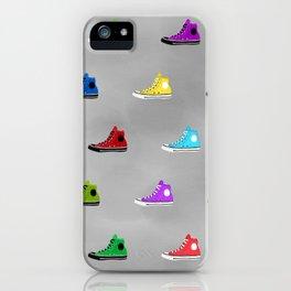 Rock shoes iPhone Case