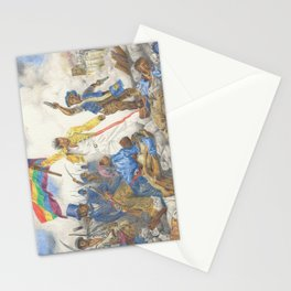 Liberty Leading the People Stationery Cards