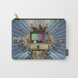 The  Television Will Not Be Revolutionised! Carry-All Pouch