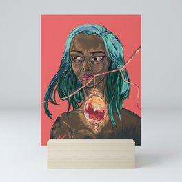 Blood Egg, Dark Skinned Vampire Mini Art Print