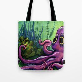 Leo the Octopus Tote Bag