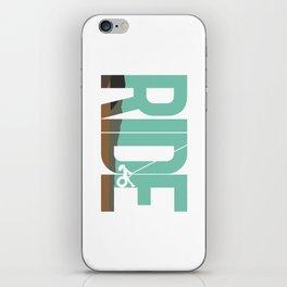 Ride LDR iPhone Skin