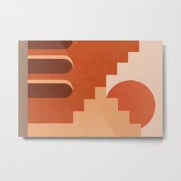 Abstraction_SUN_Architecture_ART_Minimalism_001 Metal Print
