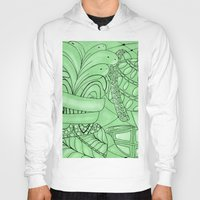zentangle Hoodies featuring Zentangle by Annalisa Amato Art