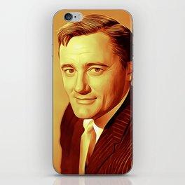 Robert Vaughan iPhone Skin
