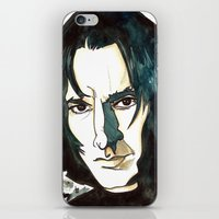 snape iPhone & iPod Skins featuring Professer Snape by Boni Dutch