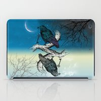 key iPad Cases featuring Raven's Key Night+Day by Rachel Caldwell