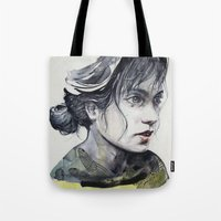 dragonfly Tote Bags featuring Dragonfly by agnes-cecile