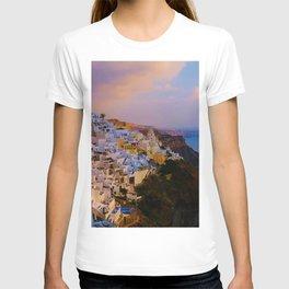 Santorini,Greece T-shirt