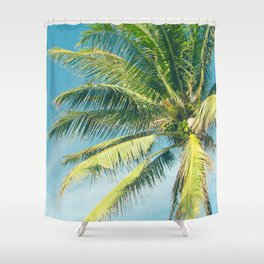 Hookipa Palm Dreams Shower Curtain