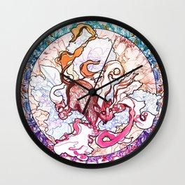 The Chinese Zodiac - Rat Wall Clock