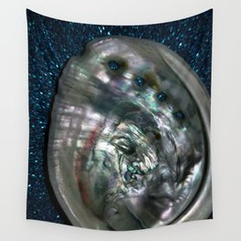 OysterInBlue Wall Tapestry