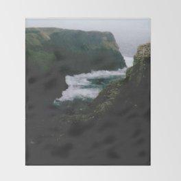 Analogue Cliffs Throw Blanket