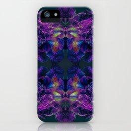 Floral Symmetry iPhone Case