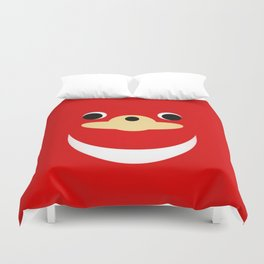 Ugandan Knuckles Painting Duvet Cover