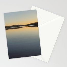Lake in Mauricie, Qc, Canada Stationery Cards