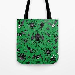 Cosmic Horror Critters Tote Bag