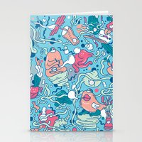 bubble Stationery Cards featuring bubble by Anukun Hamala (NHD)