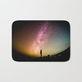Galaxy Starry Night Universe Bath Mat