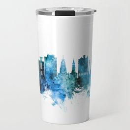 Charleston South Carolina Skyline Travel Mug