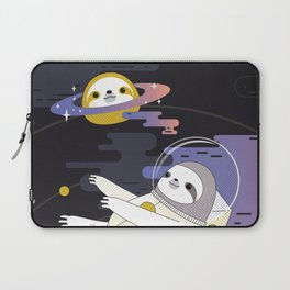 Planet Sloth Laptop Sleeve
