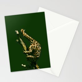 Giraffe In The Tree ?! Stationery Cards