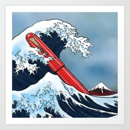Great Wave - Namiki Art Print