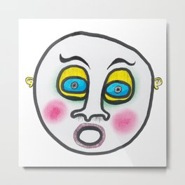Blushing fool! Metal Print