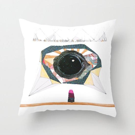 Ancient Eye Throw Pillow