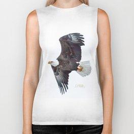Eagle soaring Biker Tank