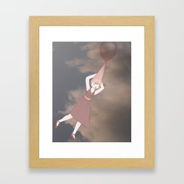 Balloon Ride Framed Art Print