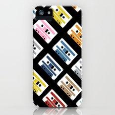 Rainbow Tapes 45 iPhone (5, 5s) Slim Case